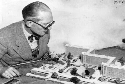 Le Corbusier - Ville Radieuse's maquette