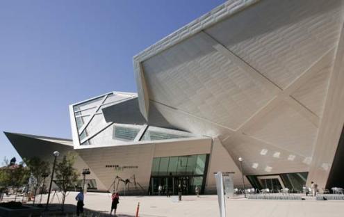 Denver Art Museum Architect Daniel Libeskind'