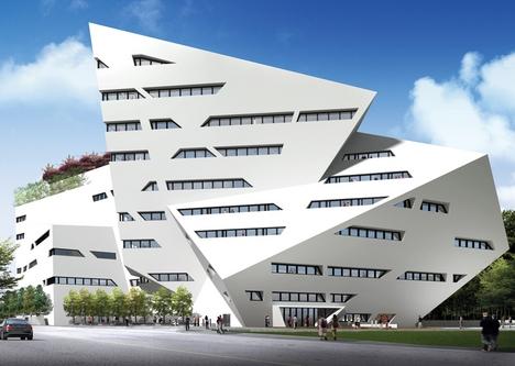 Daniel Libeskind - building in Hong Kong