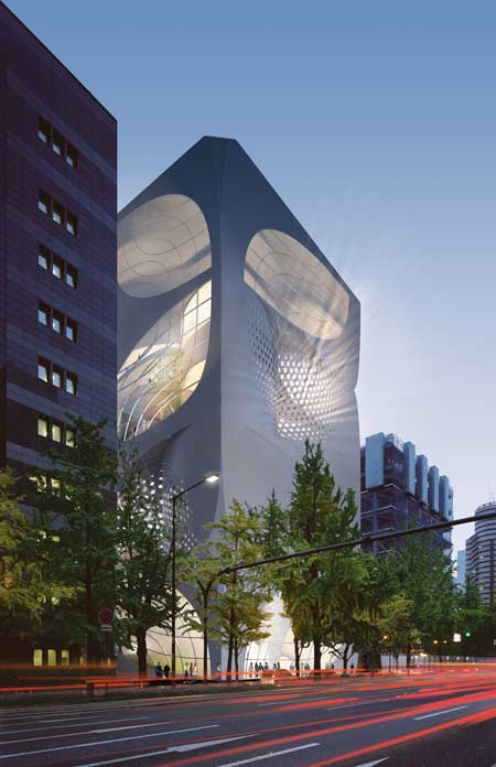 UNStudio architects - Louis Vuitton flagship store2