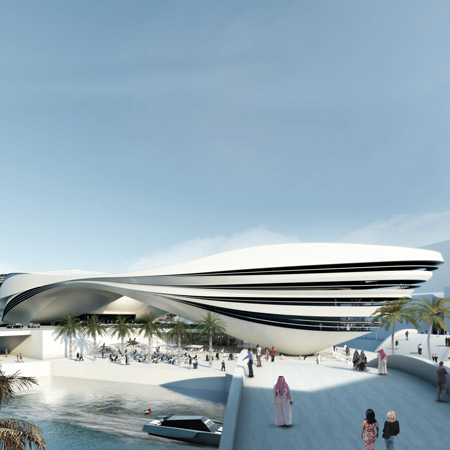 UNStudio architects - Museum of Middle Eastern Modern Art in Dubai